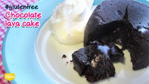 Chocolate Lava Cake - Gluten Free, Refined Sugar Free, and Grain Free