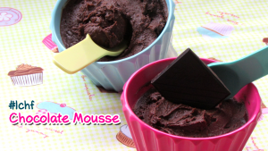 Chocolate Mousse - Gluten Free and Refined Sugar Free.