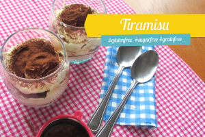 Tiramissu - Gluten Free, Refined Sugar Free, and Grain Free.
