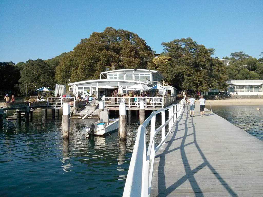The Boathouse, Balmoral Beach - restaurant front view