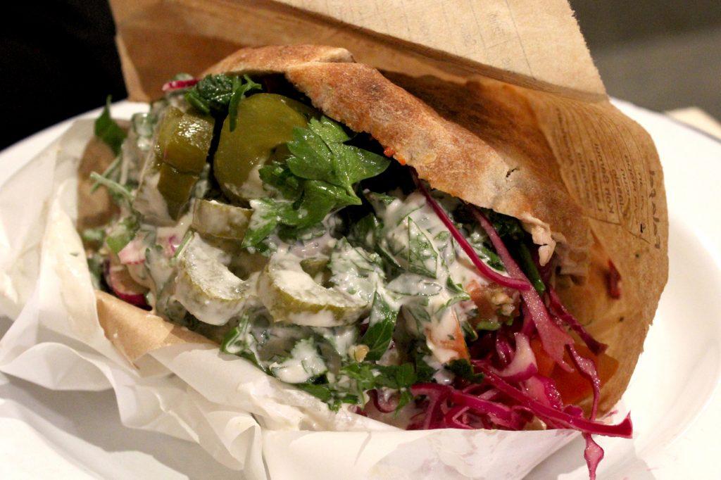 Sabbaba Pita Sandwich