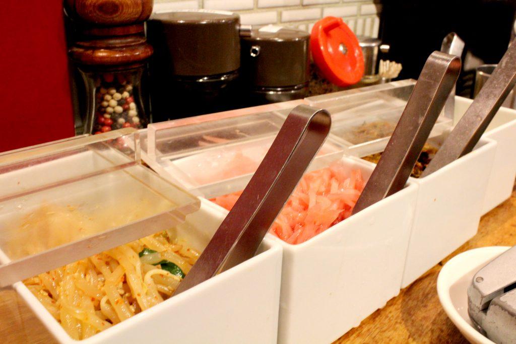 Ippudo Ginza: appetizers.