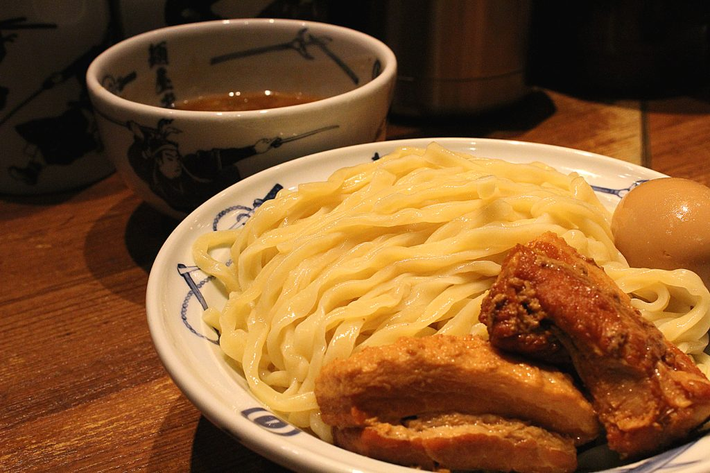 Menya Musashi - Tsukemen: dipping ramen with tender pork and egg.