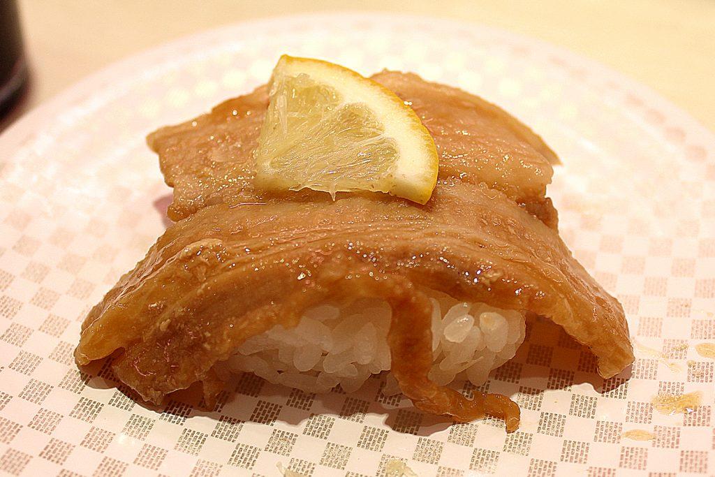 Roasted pork ribs
