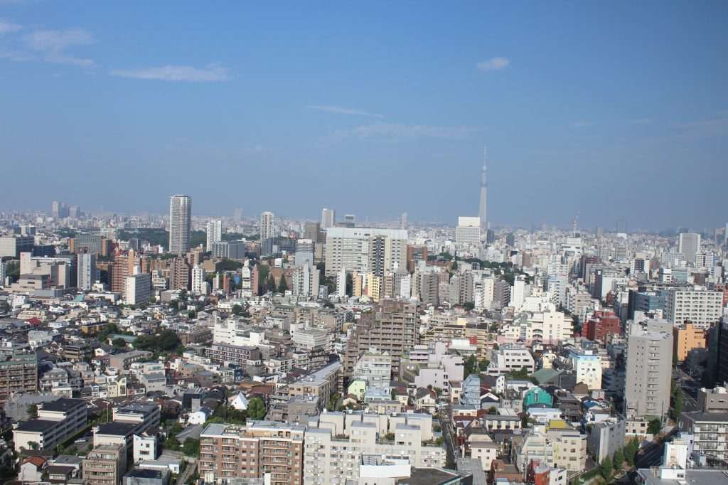 Bunkyo Civic Center view