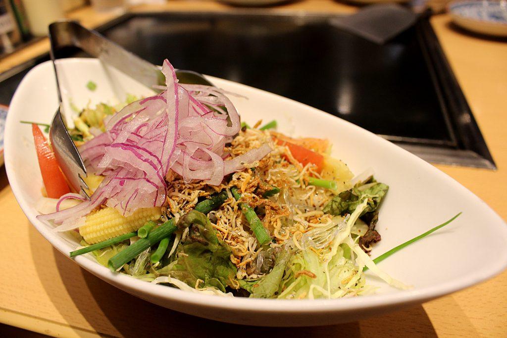 Chibo's salad.