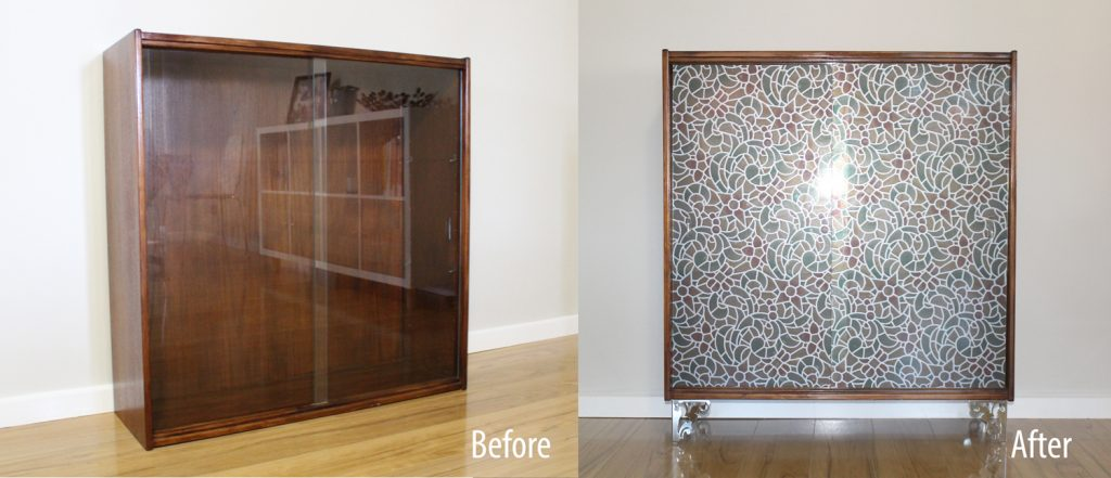 Before and after - Cabinet Revamp.