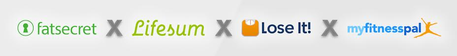 Calour counter apps reviewed and compared: FatSecret x Lifesum x Lose It! x MyFitnessPal