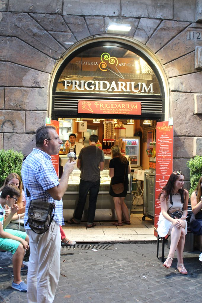 Frigidarium - entrance.