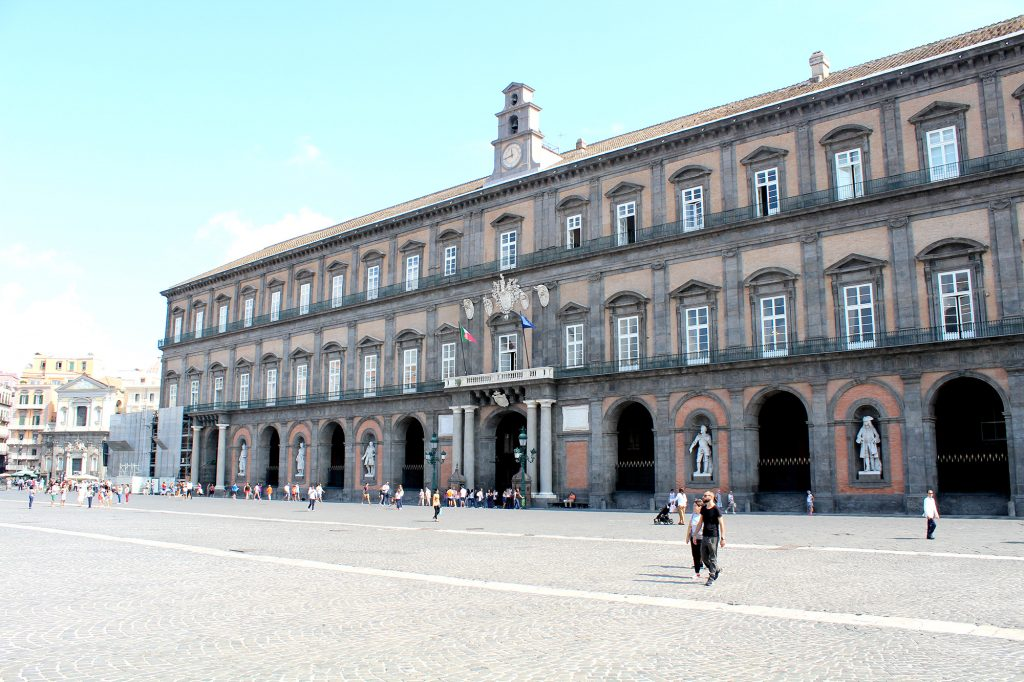 Royal Palace of Naples.