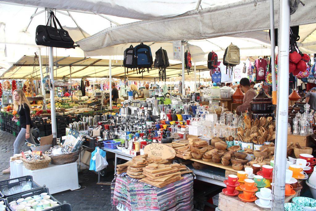Campo de' Fiori - Market.