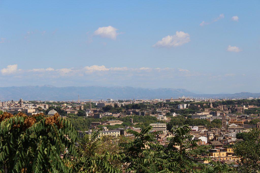 Terrazza del Gianicolo - view.