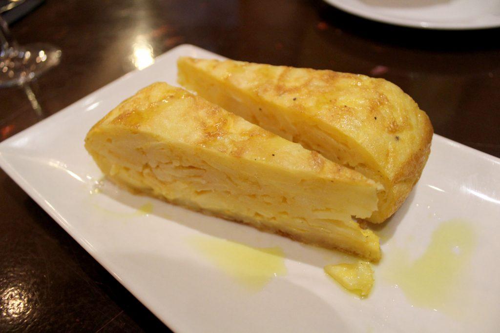Tapas - Tortilla de patatas.