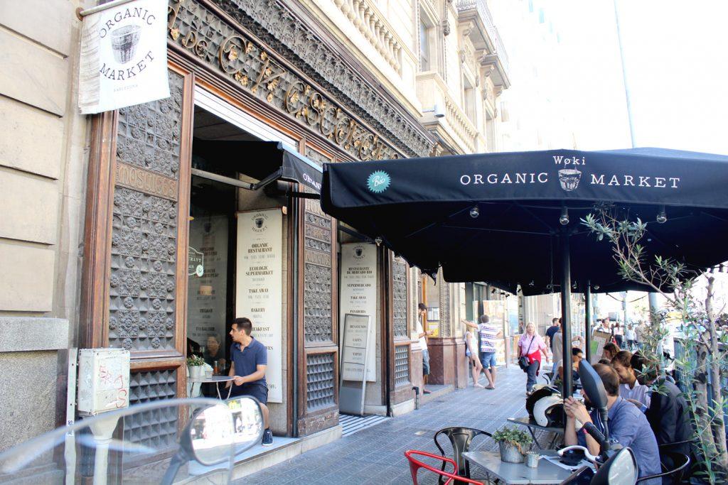 Woki Organic Market - entrance.