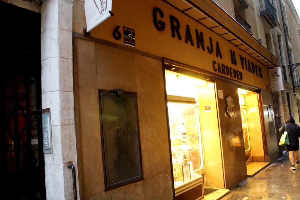 Granja M. Viader - entrance