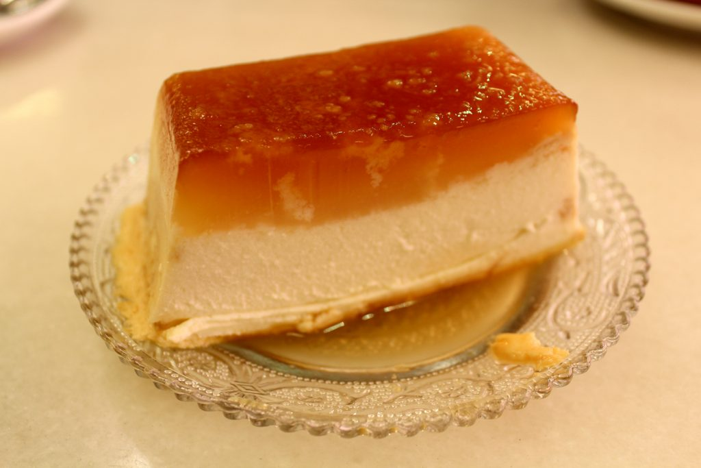 Cheese pudding - Flan de Matò