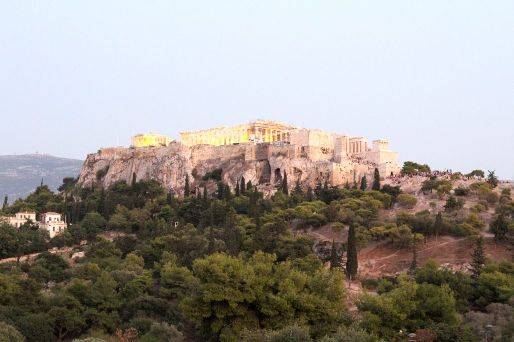 Outstanding views from The Acropolis.