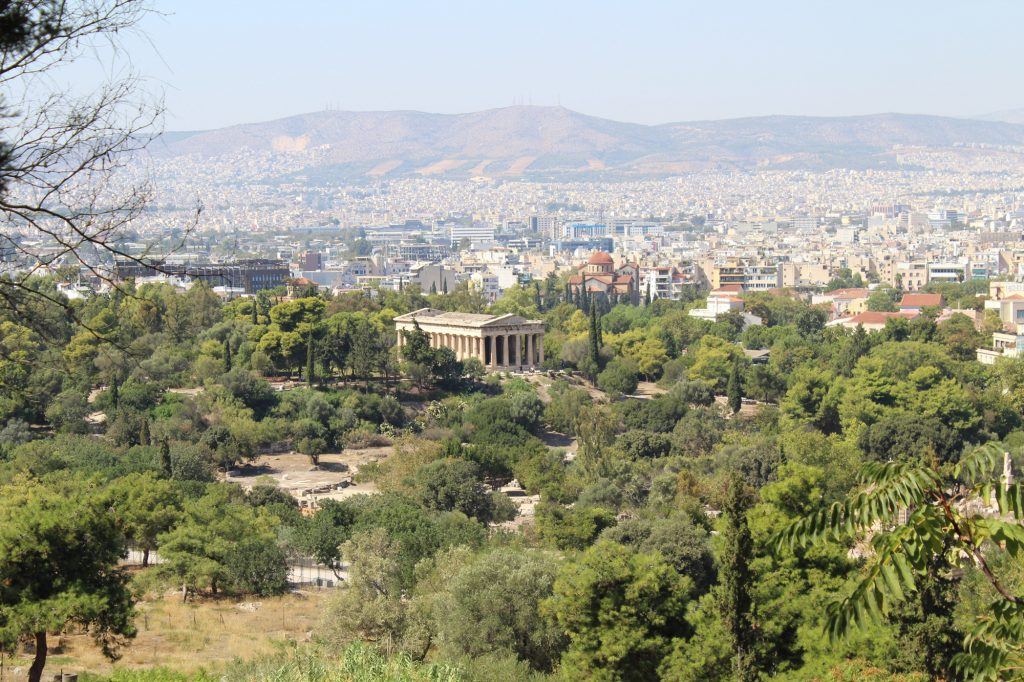 Temple of Hephaestus and Ancient Agora of Athens