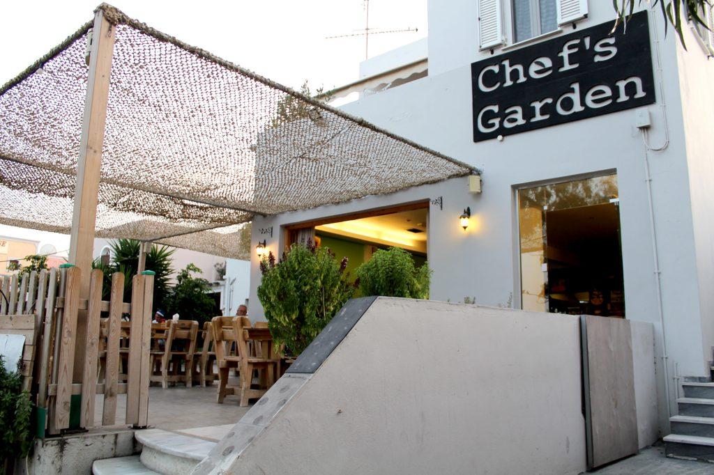 Chef's Garden - entrance.