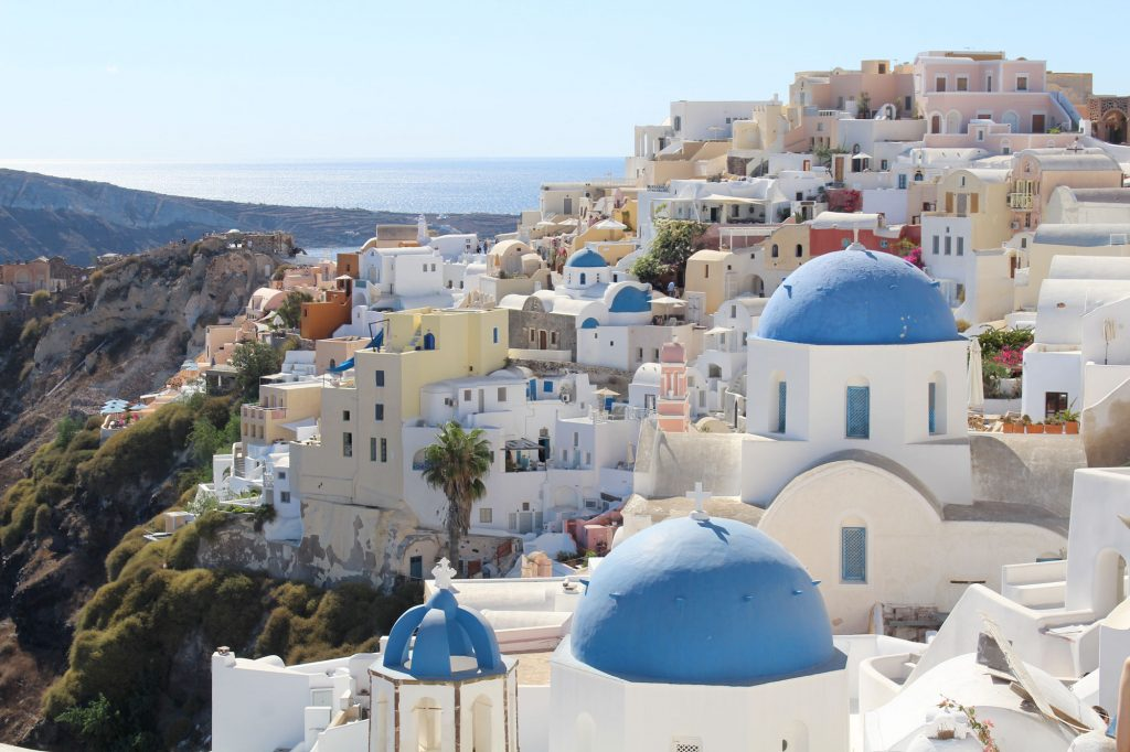 View of Oia.