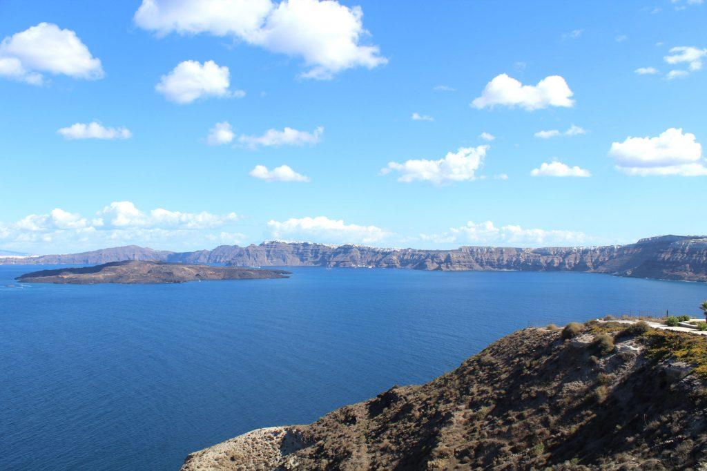 The caldera.